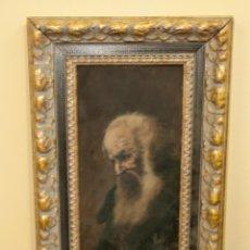 Arte: OLEO SOBRE TABLA DEL FAMOSO PINTOR JOAQUIN ESPALTER RULL..FIRMADO. 1809 - 1880. Lote 203386781