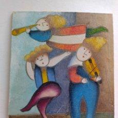 Arte: ÓLEO SOBRE TABLA ENTELADA.. Lote 203608558