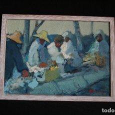 Arte: FRANCESC OLIVER FRADERA, BONITO OLEO SOBRE TABLEX. FIRMADO, OLIVER.. Lote 203617062