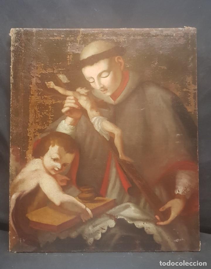 CUADRO PARA RESTAURAR S.XVIII (Arte - Pintura - Pintura al Óleo Antigua siglo XVIII)