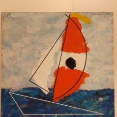 Arte: CARLO VIVANTTI DOMINGUELL, (ROMA 1950), ACRÍLICO SOBRE TABLERO, (60X50). Lote 203922376
