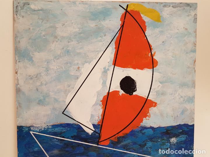 Arte: CARLO VIVANTTI DOMINGUELL, (ROMA 1950), ACRÍLICO SOBRE TABLERO, (60X50) - Foto 3 - 203922376