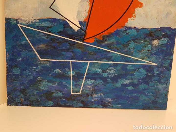 Arte: CARLO VIVANTTI DOMINGUELL, (ROMA 1950), ACRÍLICO SOBRE TABLERO, (60X50) - Foto 5 - 203922376