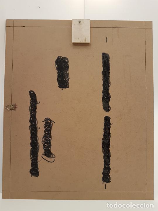 Arte: CARLO VIVANTTI DOMINGUELL, (ROMA 1950), ACRÍLICO SOBRE TABLERO, (60X50) - Foto 8 - 203922376