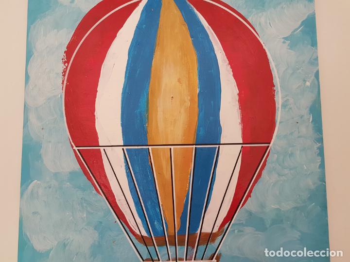 Arte: CARLO VIVANTTI DOMINGUELL, (ROMA 1950), ACRÍLICO SOBRE TABLERO, (50X40) - Foto 3 - 203922765
