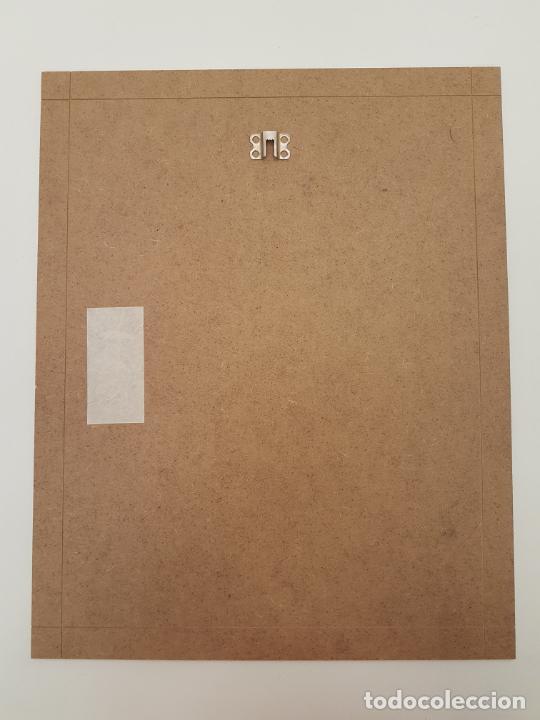 Arte: CARLO VIVANTTI DOMINGUELL, (ROMA 1950), ACRÍLICO SOBRE TABLERO, (50X40) - Foto 7 - 203922765