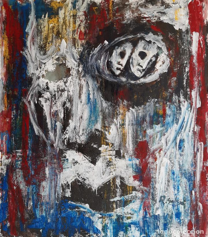 PINTURA SOBRE TELA, FIRMA.R,GALASO (Arte - Pintura - Pintura al Óleo Contemporánea )
