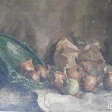 Arte: PINTURA AL OLEO SOBRE LIENZO FIRMADA,SIGLO XIX. Lote 204086092