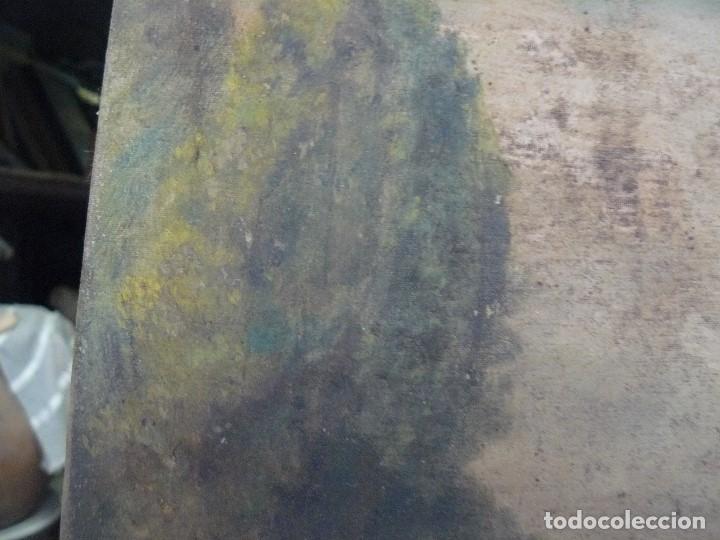 Arte: OLEO SOBRE TELA - ANONIMO - PAISAJE - Foto 6 - 191582477