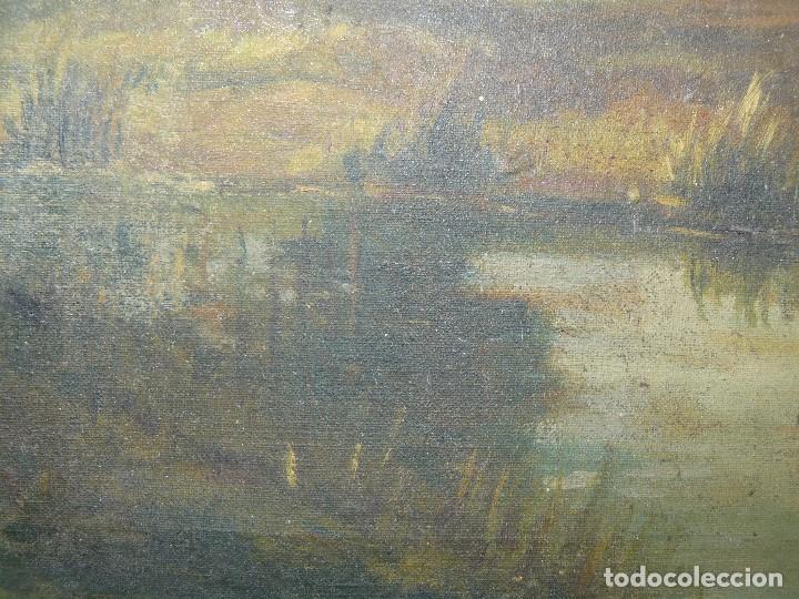 Arte: OLEO SOBRE TELA - ANONIMO - PAISAJE - Foto 9 - 191582477