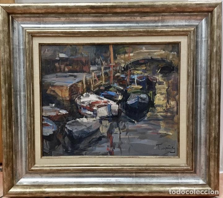 JOSEP CRUAÑAS FAGES (GIRONA 1942) (Arte - Pintura - Pintura al Óleo Contemporánea )