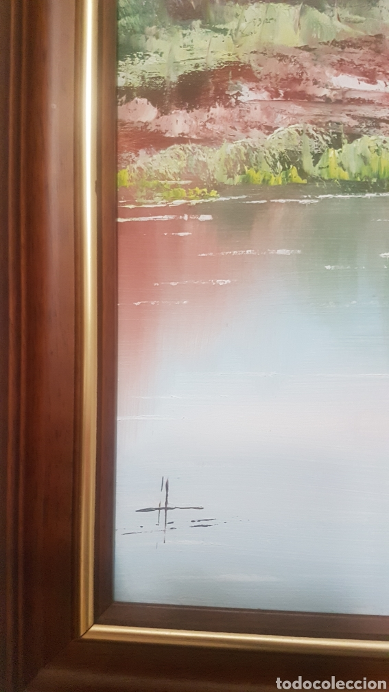 Arte: Precioso cuadro al óleo , gran tamañp 1m x 60 cm - Foto 3 - 204213307