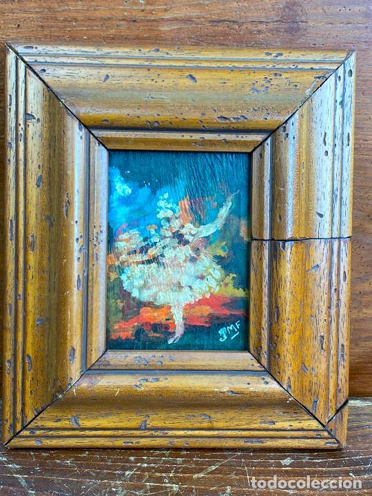 CUADRO OLEO DEL PINTOR MURCIANO JORGE MONLLOR - AÑOS 40 - MURCIA (Arte - Pintura - Pintura al Óleo Contemporánea )