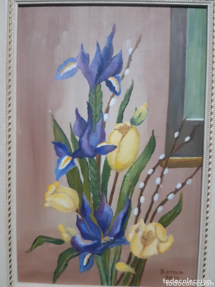 Arte: Obra de arte, óleo sobre madera, con firma del autor - Foto 2 - 204326192