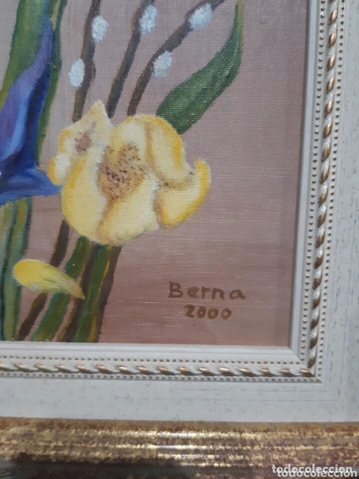 Arte: Obra de arte, óleo sobre madera, con firma del autor - Foto 3 - 204326192