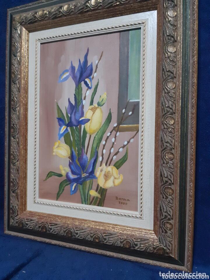 Arte: Obra de arte, óleo sobre madera, con firma del autor - Foto 4 - 204326192