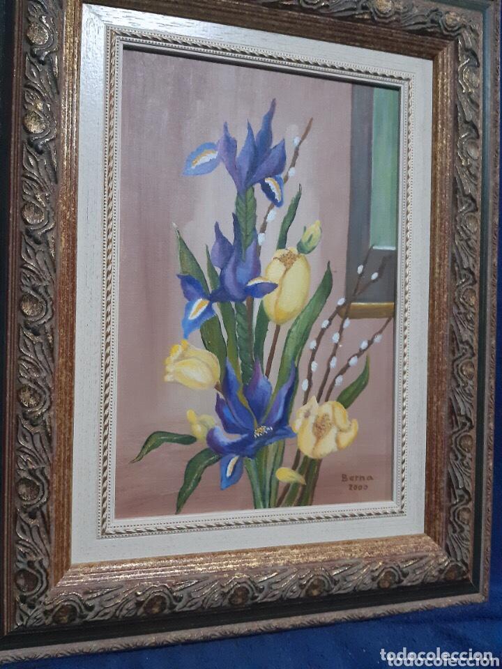 Arte: Obra de arte, óleo sobre madera, con firma del autor - Foto 5 - 204326192