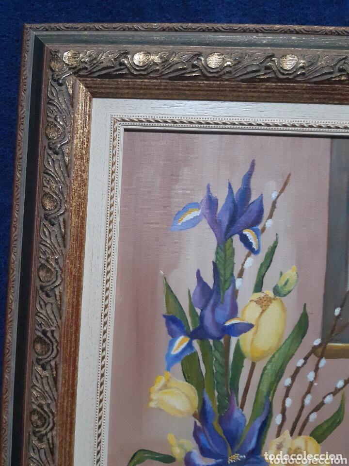 Arte: Obra de arte, óleo sobre madera, con firma del autor - Foto 6 - 204326192