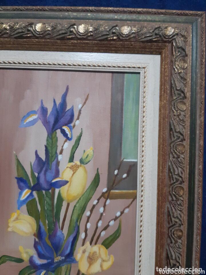 Arte: Obra de arte, óleo sobre madera, con firma del autor - Foto 7 - 204326192