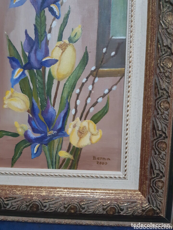 Arte: Obra de arte, óleo sobre madera, con firma del autor - Foto 8 - 204326192