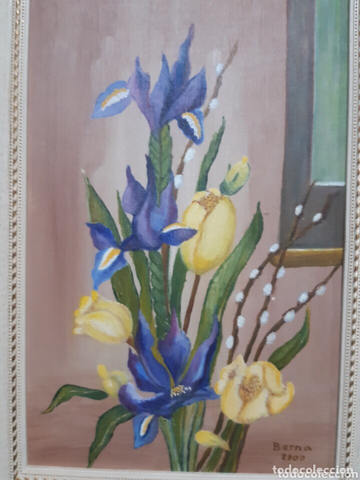 Arte: Obra de arte, óleo sobre madera, con firma del autor - Foto 9 - 204326192