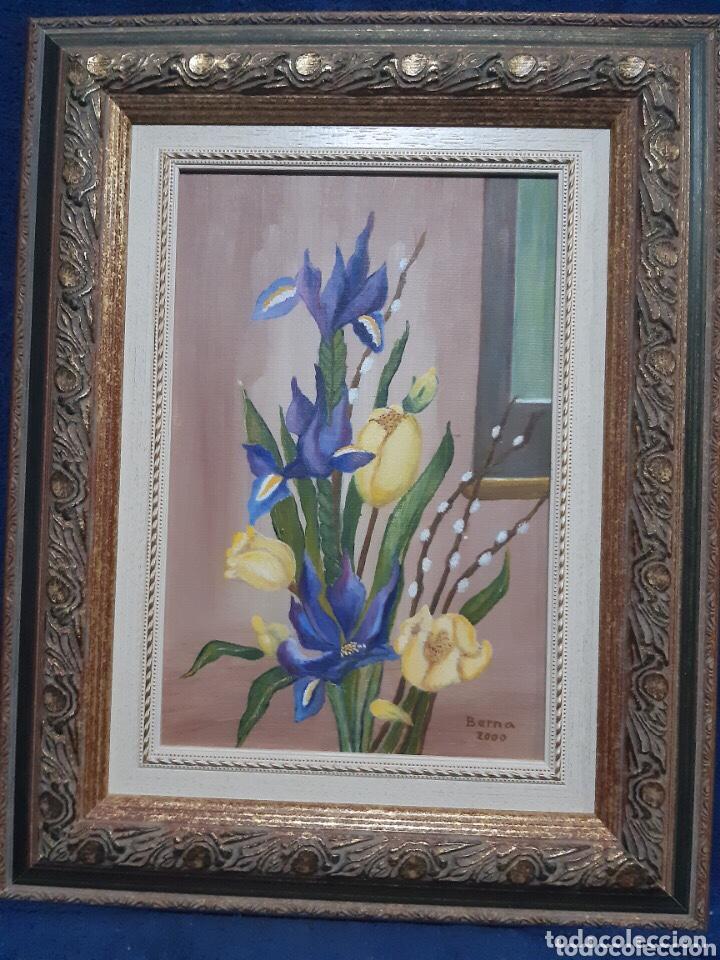 Arte: Obra de arte, óleo sobre madera, con firma del autor - Foto 10 - 204326192
