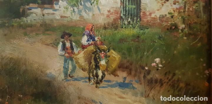 Arte: Cuadro Enrique Marin Pintura al óleo - Foto 3 - 204422881
