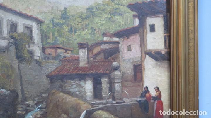 Arte: VISTA DE GUISANDO. AVILA. ENRIQUE PEREZ VICENTE (1907-?). OLEO S/ LIENZO - Foto 9 - 204459532
