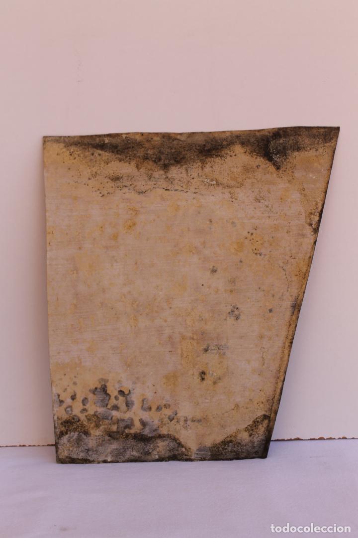 Arte: FRAGMENTO DE PINTURA AL TEMPLE 1 SOBRE PAPEL SIGLOS XIV-XV - Foto 6 - 204542030