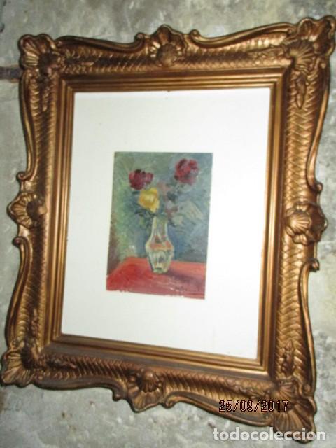 Arte: ANTIGUA PINTURA OLEO ORIGINAL MELCHOR ARACIL GALLEGO 1906 -.1966 ALICANTE compañero de gaston cas - Foto 5 - 200858037