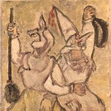 Arte: FESTA SARDINAS BAILANDO. Lote 198840071