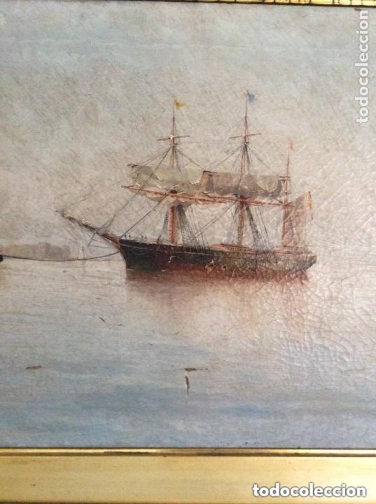 Arte: Hernández Monjo Francisco (Mahón 1862 - Barcelona 1937) óleo sobre lienzo 130x78cm - Foto 2 - 204973877