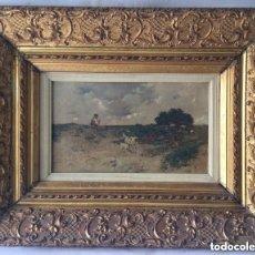 Arte: VICENTE MOTA Y MORALES (QUINTANAR DE LA ORDEN, TOLEDO 1869) OBRA DE FINALES DEL SIGLO XIX. Lote 204974260