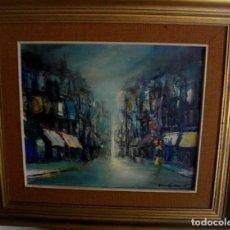 Arte: OLEO SOBRE LIENZO/TABLILLA FIRMADO JOSE GASENT 1897- 1973 VALENCIA -( 59 X 64 CTMS ) CON MARCO. Lote 205084515