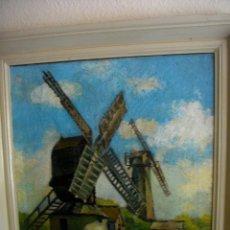 Arte: OLEO SOBRE LIENZO FIRMA AM. FRURENS ((ADQUIRIDO EN PARIS (( 87 X 58 CTMS CON MARCO))AÑOS 1870. Lote 205143792