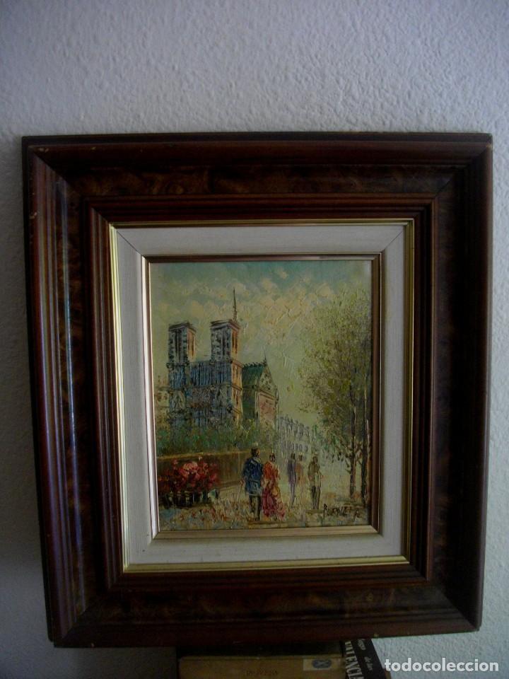 CAROLIN BURNETT 1896 -1978 TEXAS -USA (( OBRA ADQUIRIDA EN FRANCIA DE LA MANO DEL AUTR)) (Arte - Pintura - Pintura al Óleo Moderna sin fecha definida)