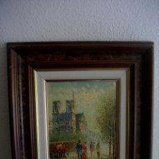 Arte: CAROLIN BURNETT 1896 -1978 TEXAS -USA (( OBRA ADQUIRIDA EN FRANCIA DE LA MANO DEL AUTR)). Lote 205145791