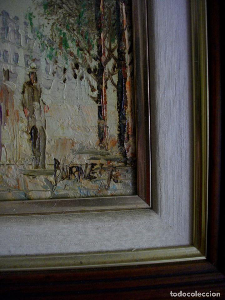 Arte: CAROLIN BURNETT 1896 -1978 TEXAS -USA (( OBRA ADQUIRIDA EN FRANCIA DE LA MANO DEL AUTR)) - Foto 2 - 205145791