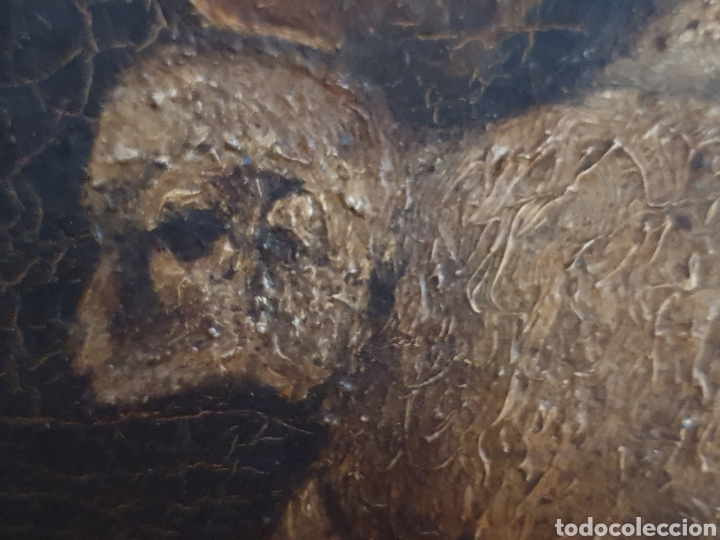 Arte: INTERESANTISIMO CUADRO COSTUNBRISTA S.XVII-XVIII - Foto 3 - 159652044