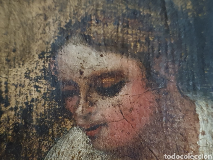 Arte: INTERESANTISIMO CUADRO COSTUNBRISTA S.XVII-XVIII - Foto 8 - 159652044
