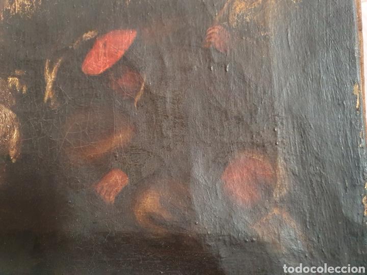 Arte: INTERESANTISIMO CUADRO COSTUNBRISTA S.XVII-XVIII - Foto 10 - 159652044