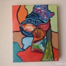 Arte: PINTURA AL OLEO ORIGINAL. Lote 205239061