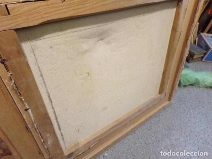 Arte: pintura oleo sobre tela firmada parece leerse soto , agradeceria informacion gracias - Foto 10 - 98059283