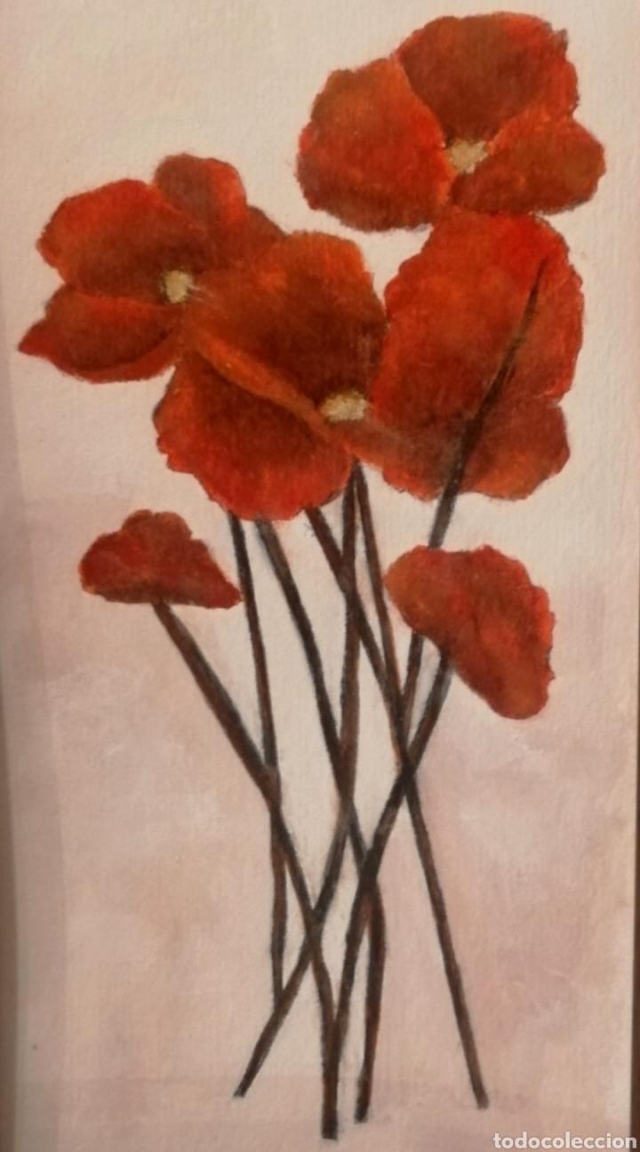AMAPOLAS (Arte - Pintura Directa del Autor)