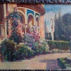 Arte: CIRCULO SANTIAGO RUSIÑOL- JARDÍN-. Lote 205578492