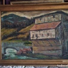 Arte: OLEO DEL PINTOR DE NAVARRA RETANA. Lote 205604673