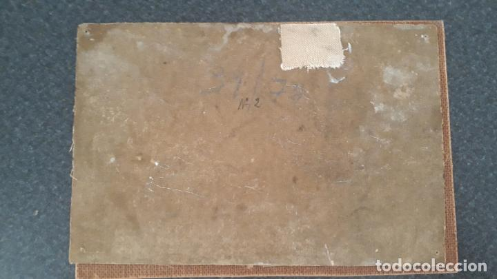 Arte: pintura al oleo sobre lienzo,leopoldo garcia ramon,discipulo de sorolla,vista de javea? - Foto 8 - 205644755