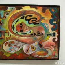 Arte: CUADRO AL OLEO ORIGINAL. EL ACEITE. Lote 205648978