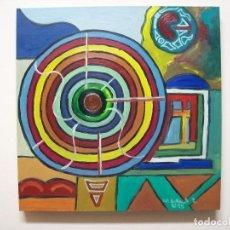 Arte: PINTURA AL OLEO. EL VENTILADOR. Lote 205649986
