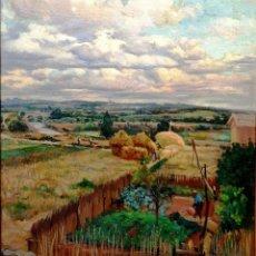 Arte: MATEO BALASCH (1870-1936). PAISAJE DEL BAJO TER.. Lote 160216296